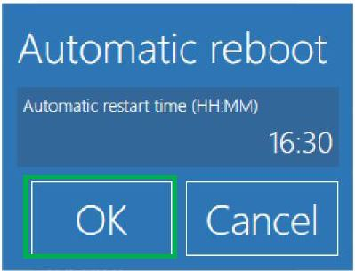 AUTOMATIC REBOOT